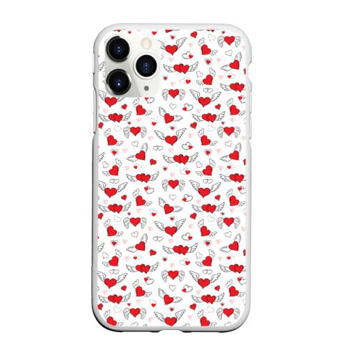 Чехол для iPhone 11 Pro матовый Love Фото 01
