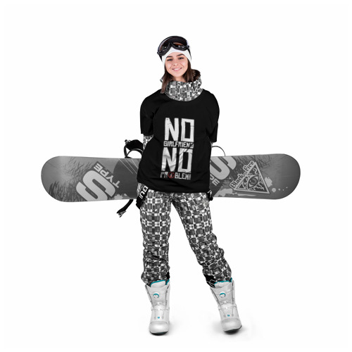 Накидка на куртку 3D Нет Девушки - Нет Проблем Фото 01
