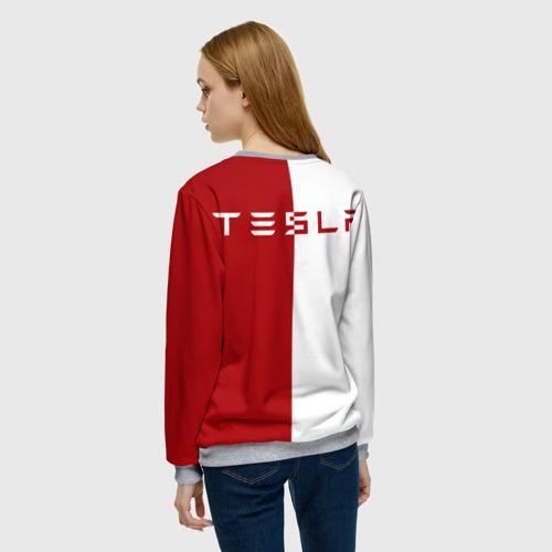 Женский свитшот 3D Tesla $$$ Фото 01