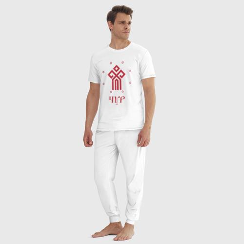 Мужская пижама хлопок Символ Чура Фото 01