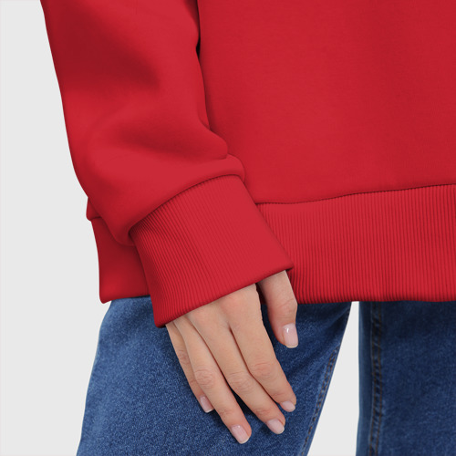 Женское худи Oversize хлопок Infinity | Инфинити (Z) Фото 01