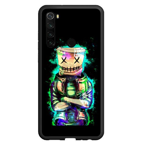Чехол для Xiaomi Redmi Note 8 Зеленый мальчик Фото 01