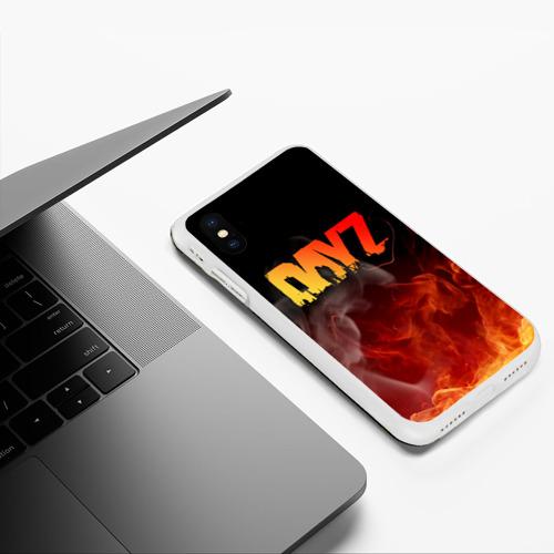 Чехол для iPhone XS Max матовый DAYZ / ДЕЙЗИ Фото 01