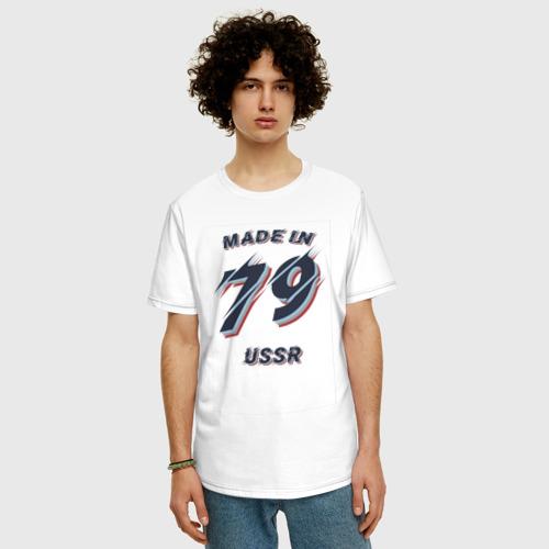 Мужская футболка хлопок Oversize Рождённый в 1979 Фото 01