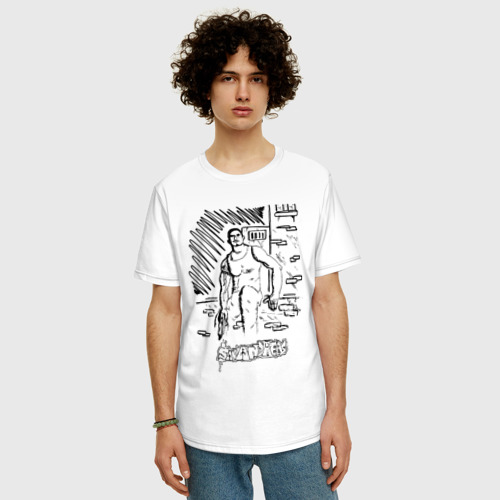 Мужская футболка хлопок Oversize Grand Theft Auto: San Andreas Фото 01