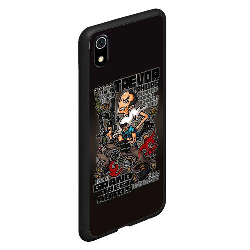 Чехол для Xiaomi Redmi Mi 7A Тревор Филипс   GTA 5 Фото 01