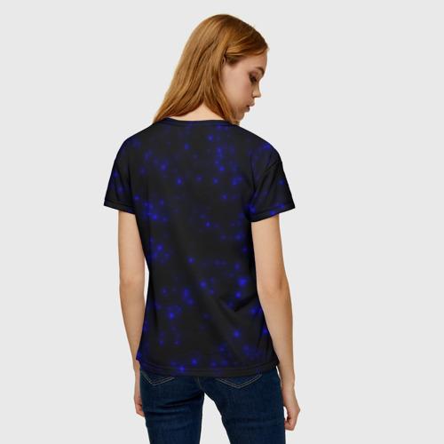 Женская футболка 3D Неоновые бабочки Фото 01