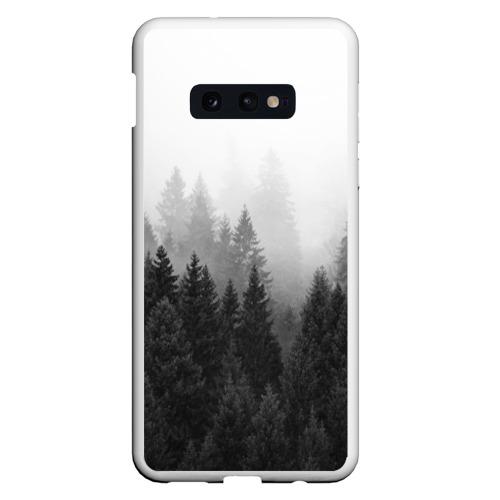 Чехол для Samsung S10E Туманный лес Фото 01