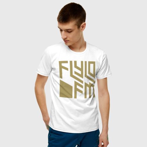 Мужская футболка хлопок FLYLO FM | GTA Фото 01