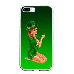 девушка лепрекон в зеленом
