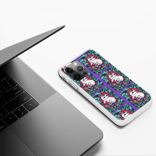 Чехол для iPhone 12 Pro Max Маленькие Единорожки Фото 01