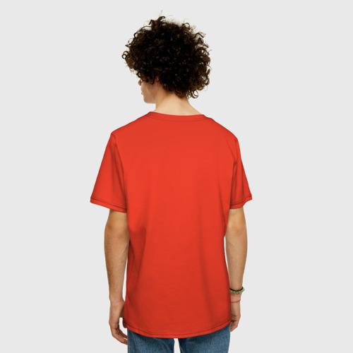 Мужская футболка хлопок Oversize Кисти Фото 01
