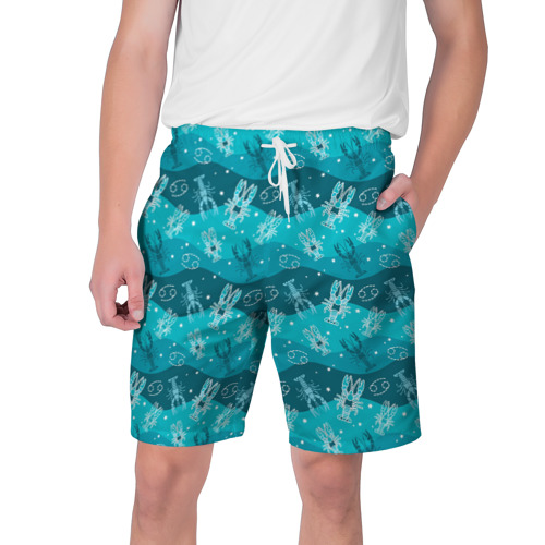Мужские шорты 3D Рак Фото 01