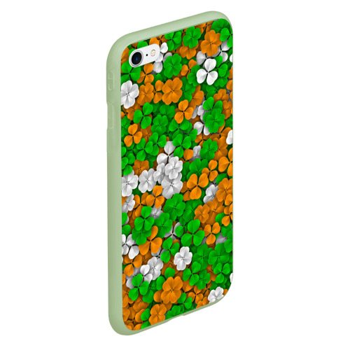 Чехол для iPhone 6Plus/6S Plus матовый Ирландский клевер Фото 01