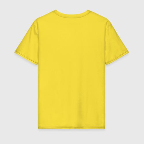 Мужская футболка хлопок Пчела и Соты Фото 01