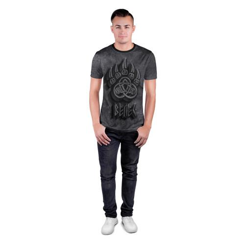 Мужская футболка 3D спортивная Печать Велеса Фото 01
