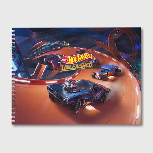 Альбом для рисования Hot Wheels Unleashed Фото 01