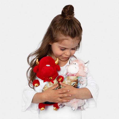 Игрушка Бычок в футболке 3D Лиса Фото 01