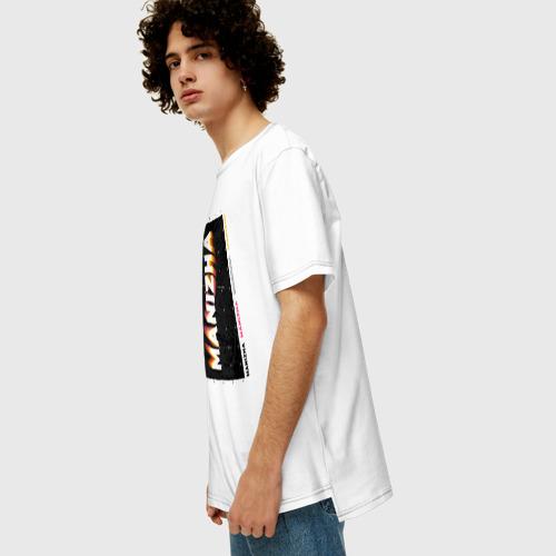 Мужская футболка хлопок Oversize Певица Манижа Евровидение 2021 Фото 01