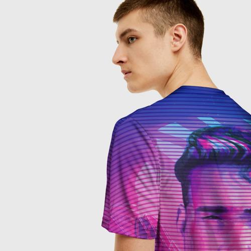 Мужская футболка 3D Гачимучи Билли Херрингтон  Фото 01