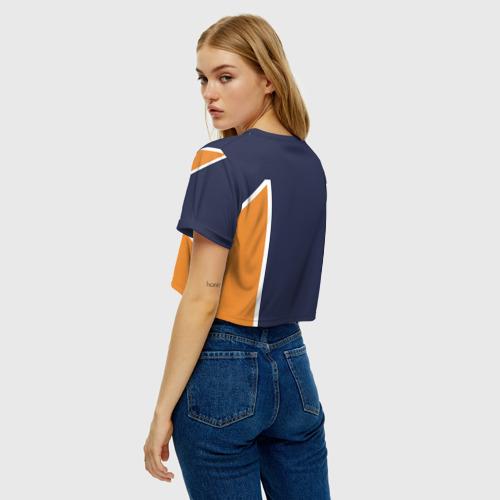 Женская футболка Crop-top 3D KARASUNO 6   ФОРМА КАРАСУНО Фото 01
