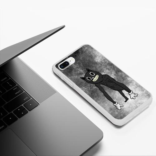 Чехол для iPhone 7Plus/8 Plus матовый Cartoon cat Фото 01