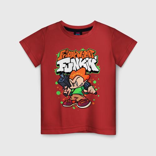Детская футболка хлопок Пико Friday Night Funkin  Фото 01