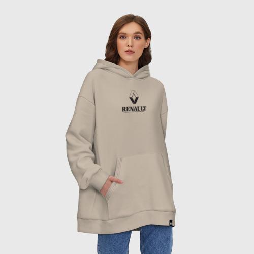 Худи SuperOversize хлопок Renault Logo | Рено логотип Фото 01