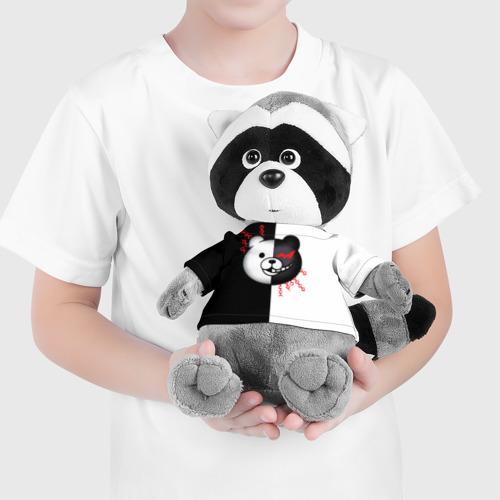 Игрушка Енотик в футболке 3D monokuma и епи Фото 01