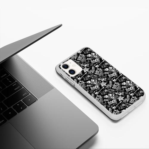 Чехол для iPhone 11 матовый Rock Star Фото 01