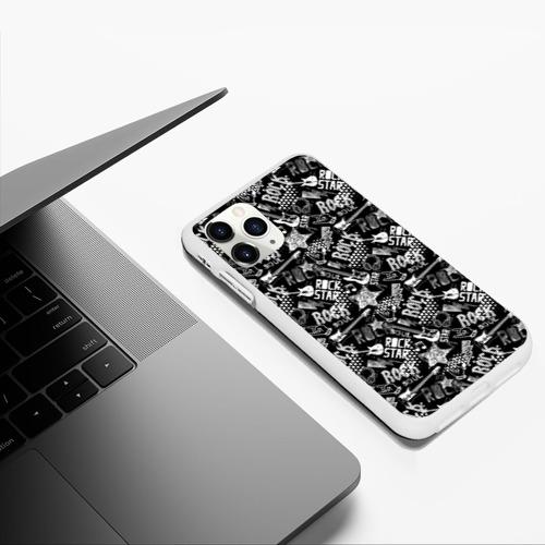 Чехол для iPhone 11 Pro Max матовый Rock Star Фото 01