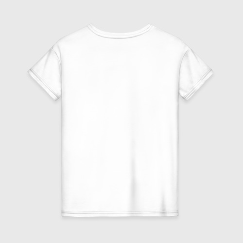 Женская футболка хлопок Кофе на кардиограмме Фото 01