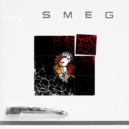 Магнитный плакат 3Х3 Кулаки Сайтамы Фото 01