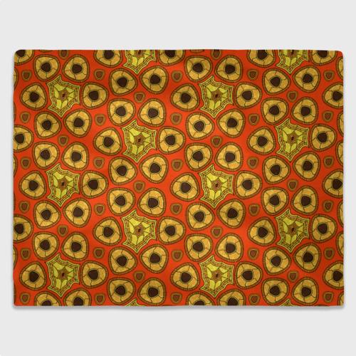 Плед 3D Древний африканский узор Фото 01