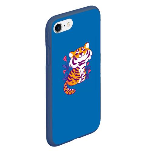 Чехол для iPhone 7/8 матовый Тигр Фото 01