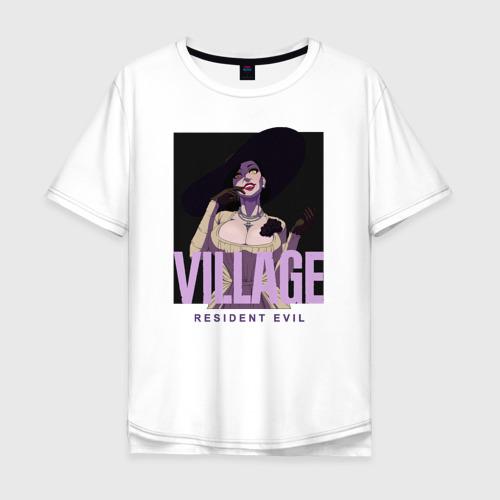Мужская футболка хлопок Oversize resident evil  vampire Фото 01