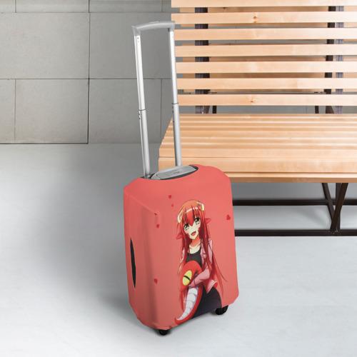 Чехол для чемодана 3D Ламия Мия Фото 01