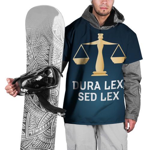 Накидка на куртку 3D Суров закон, но это закон Фото 01