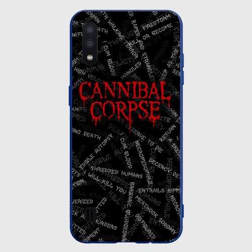Чехол для Samsung A01 Cannibal Corpse   Songs (Z) Фото 01