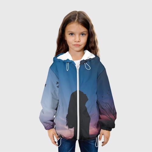 Детская куртка 3D Девушка Фото 01
