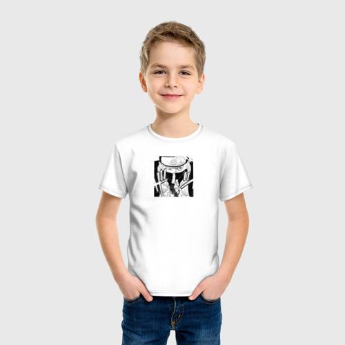 Детская футболка хлопок KAKASHI [JAP FONT] Фото 01