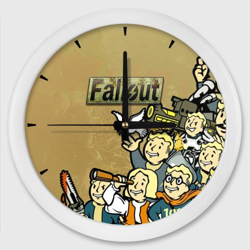 Настенные часы круглые Волтбои Фото 01