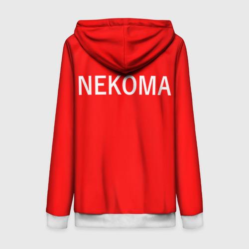 Женская толстовка 3D на молнии НЕКОМА 2   NEKOMA Фото 01