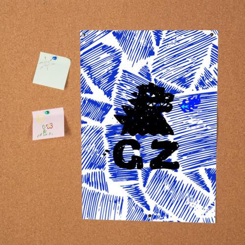 Постер годзилла  Фото 01
