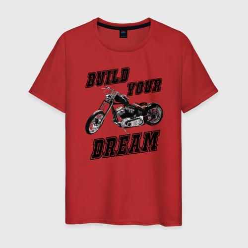 Мужская футболка хлопок Build Your Dream Фото 01