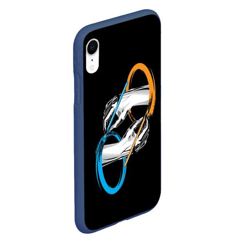 Чехол для iPhone XR матовый PORTAL 2 | ПОРТАЛ 2 Фото 01