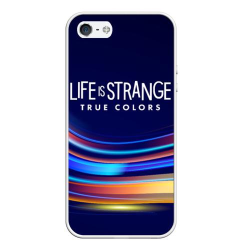 Чехол для iPhone 5/5S матовый Life is Strange: True Colors Фото 01