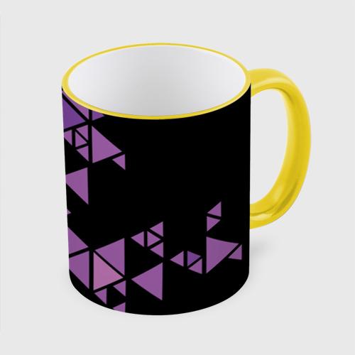 Кружка с полной запечаткой Треугольники Фото 01