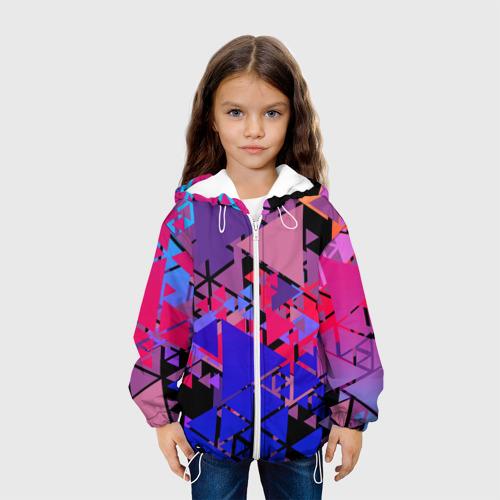 Детская куртка 3D Треугольники Фото 01