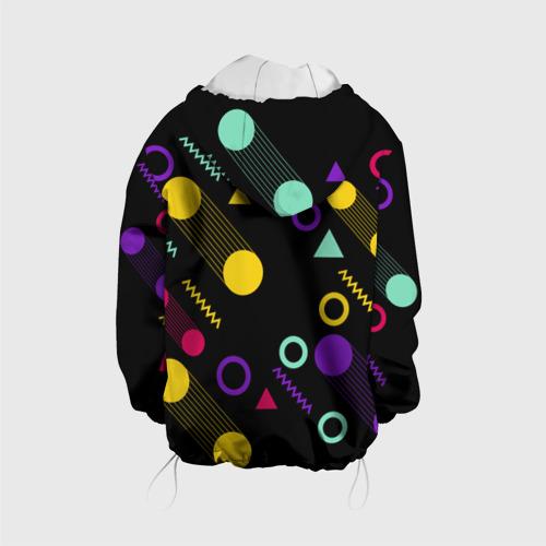 Детская куртка 3D Круги и Треугольники Фото 01